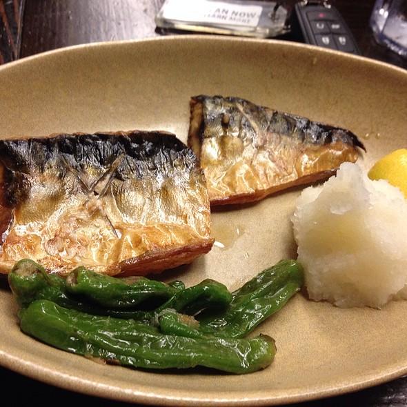 Grilled Mackerel @ Shoya Japanese Restaurant