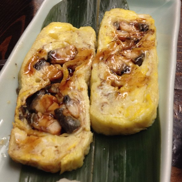 Tamago And Unagi Omlette @ Shoya Japanese Restaurant