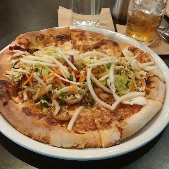 Korean Barbeque Pizza