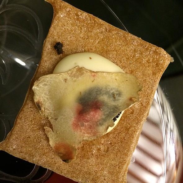 Kuzu Crisp With Aligot Potatoes And Black Truffle - brushstroke, New York, NY
