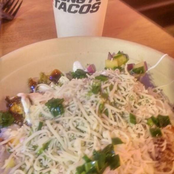 lime Shrimp Rice Bowl @ Kung Fu Tacos