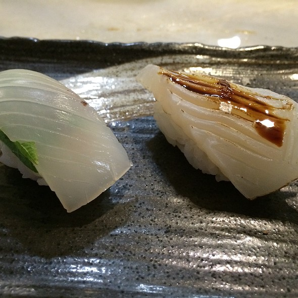 Squid @ Ken Sushi Workshop