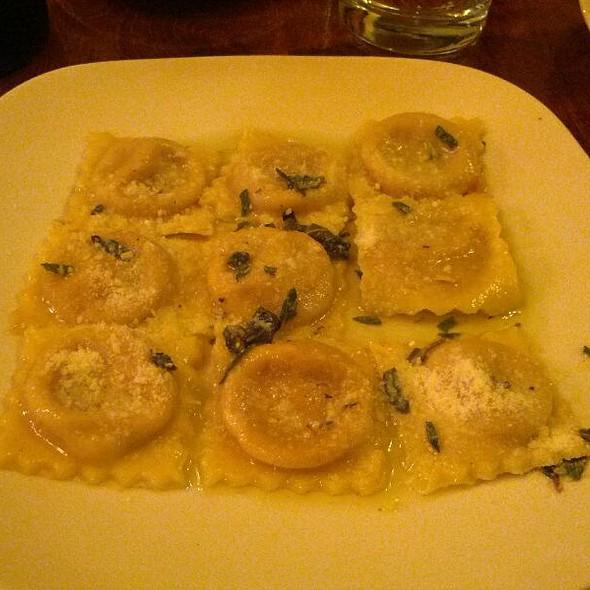 Butternut squash ravioli @ Caffe Delle Stelle
