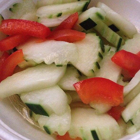 Cucumber Salad - Amarit Thai Restaurant, Chicago, IL