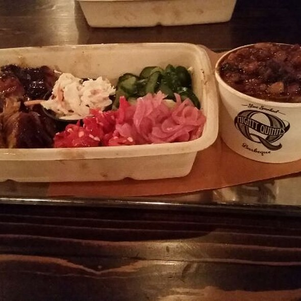 Pulled Pork. @ Mighty Quinn's Bbq