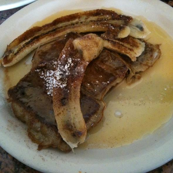 Banana Bread Pudding French Toast @ Bill's Cafe