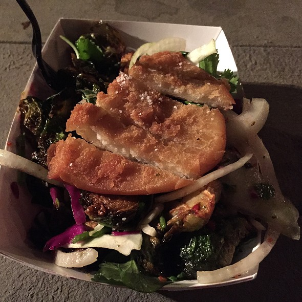 Fried Brussels Sprout Salad @ East Side King