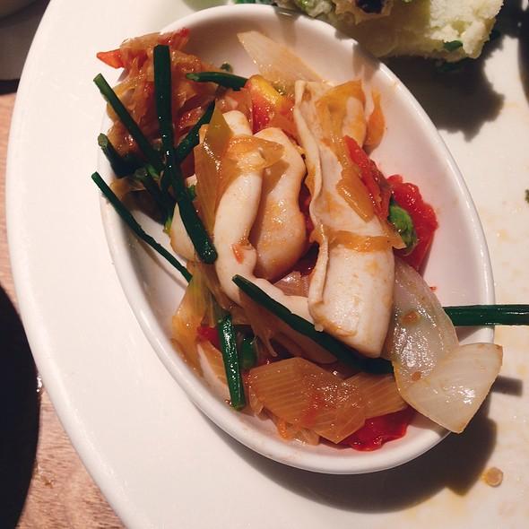 番茄醬汁煮魷魚 @ Café & Meal Muji 無印良品素の食