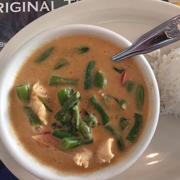 panang curry @ Thai Delight