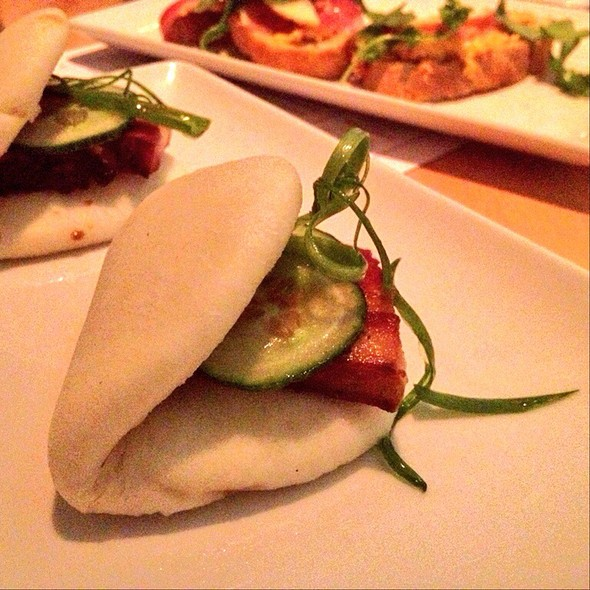 Pork Belly Steamed Buns @ Seed  Kitchen & Bar