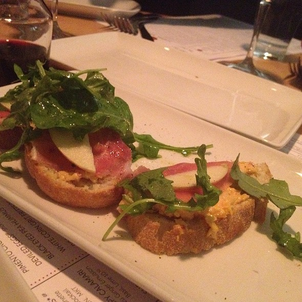 pimento cheese and benton's ham @ Seed  Kitchen & Bar
