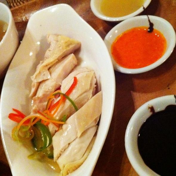 Hainanese Chicken Rice @ Alabang Country Club