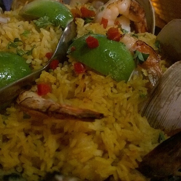 Paella - Blue Coyote Bar & Grill, Palm Springs, CA