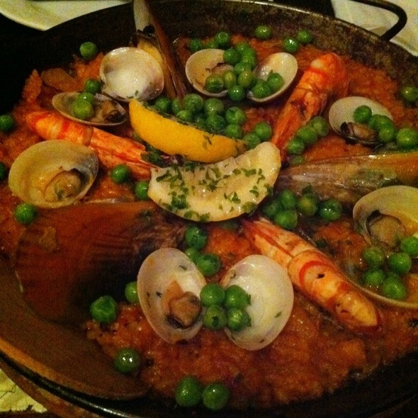 Mixed Seafood Paella @ La Bodega