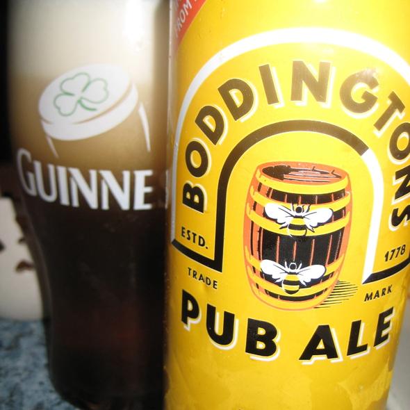 Boddingtons Pub Ale @ Paddy Mac's Restaurant