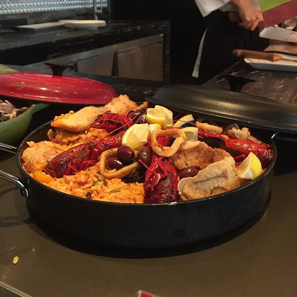 Classic Paella @ Three on Canton