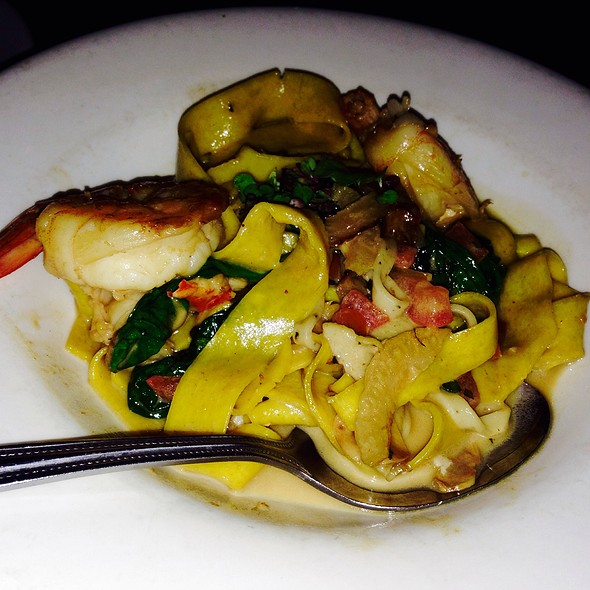 Seafood Pappardelle @ Pane Rustica