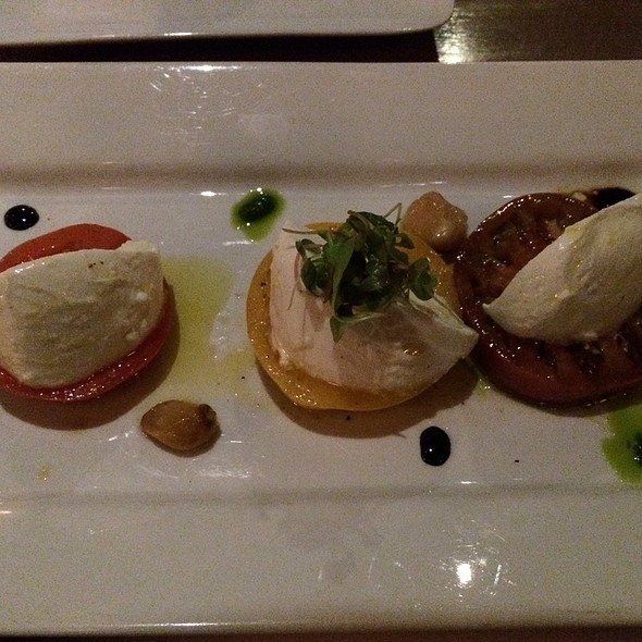 Mozzarella Di Buffala And Heirloom Tomato - Sarpa Restaurant, Richmond Hill, ON