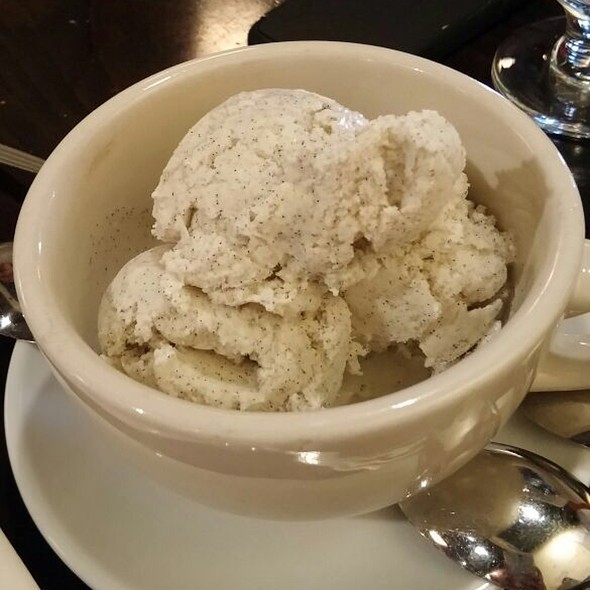 Vanilla Ice Cream - Cupping Room Cafe, New York, NY