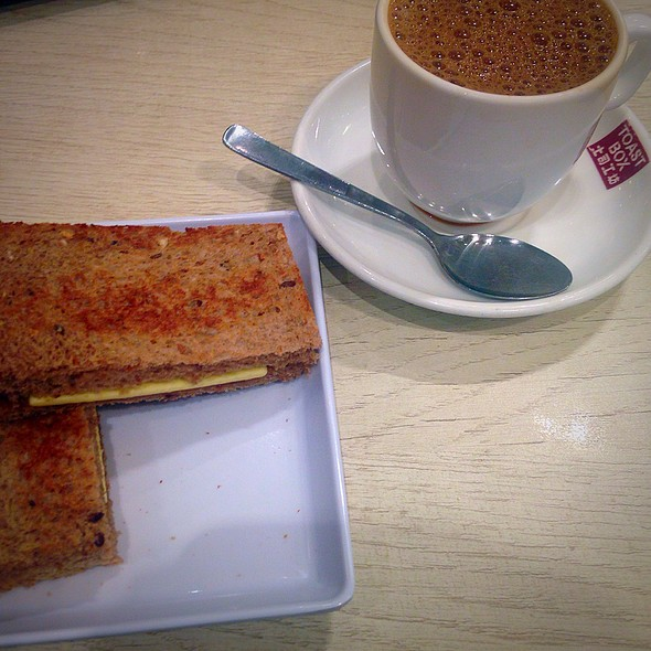 Wholemeal Kaya Butter Toast @ Toastbox