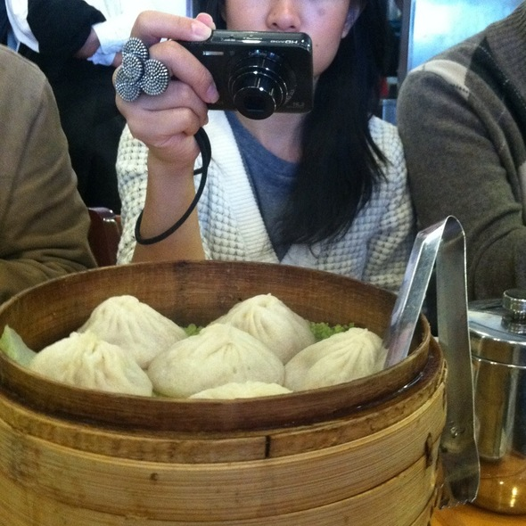 Pork Xiao Long Bao @ nan xiang dumpling house
