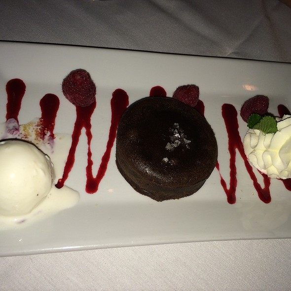 Dark Chocolate Sea Salt Molten Cake @ Mohawk House