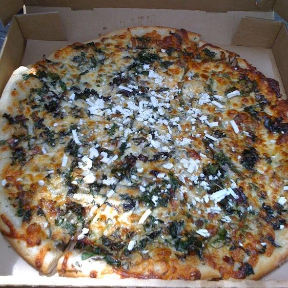 Pizza @ Cheese Board Pizza