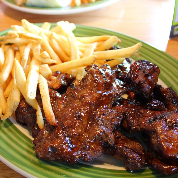 Smoky Chipotle Riblets Platter @ Applebee's
