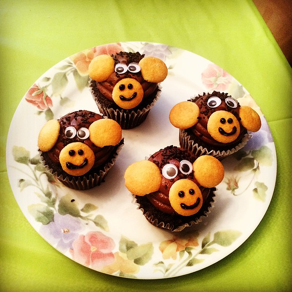 Monkey Cupcakes @ The Mistress Of Spices (Chez Moi)
