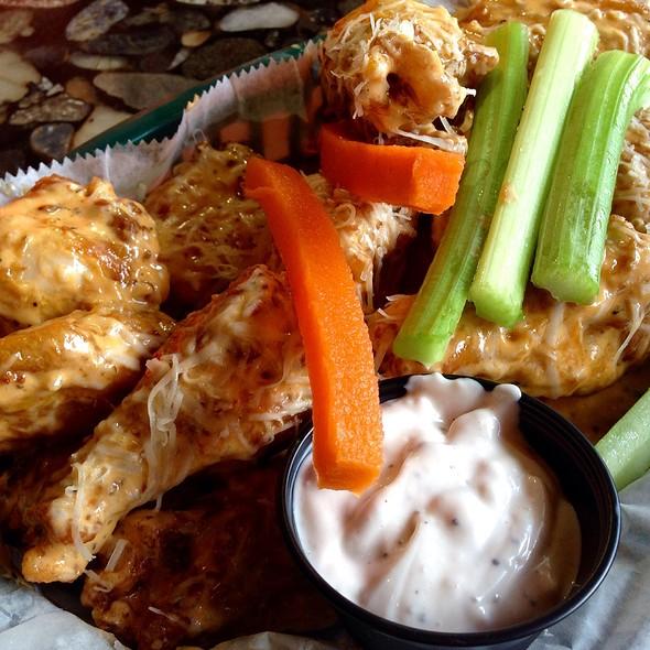 Parmesan Garlic Wings @ Bru's Room & Sports Grill Llc