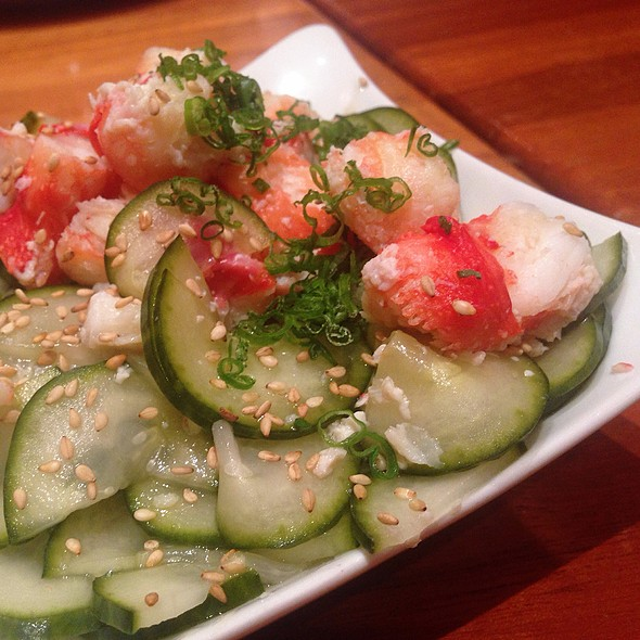 Kani Sunomono @ RM Seafood Restaurant