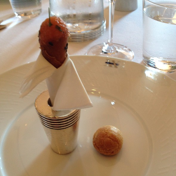 Amuse Bouche @ The French Laundry