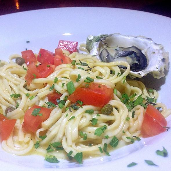 Baked Oyster W/ Fresh Pasta In Lemon Butter Sayce @ Storytellers Dinner Experience