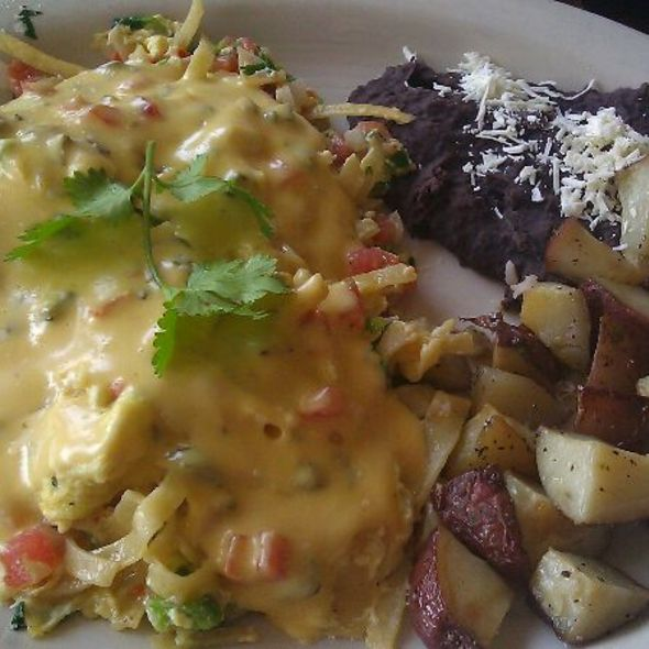 Migas Con Queso @ El Patio Mexican Restaurant: New| Midtown Location