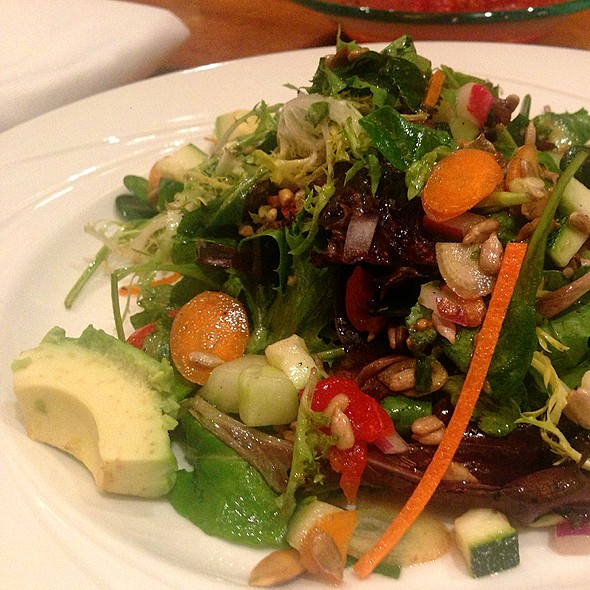 Local Organic Greens Salad @ RM Seafood Restaurant