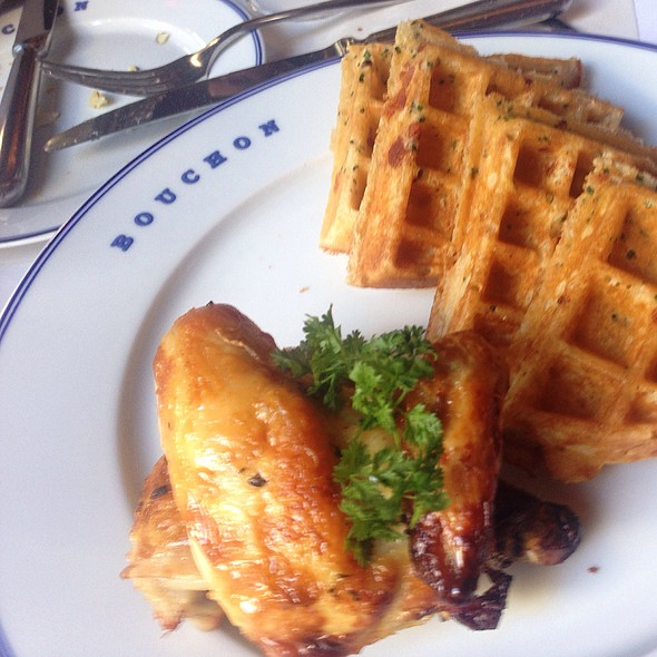 Chicken and Waffles @ Bouchon at The Venetian