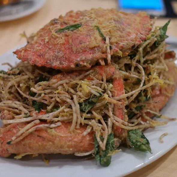 Salted Egg Yolk Crab @ Roland Seafood Restaurant