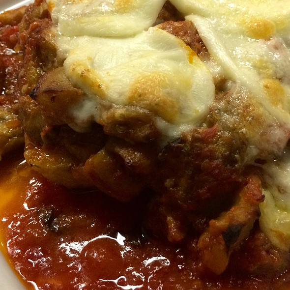 Eggplant Parmigiana @ Rachel's Cafe