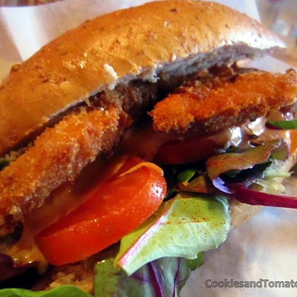 Fish Sandwich @ Lou Dawg's Southern Samdwiches