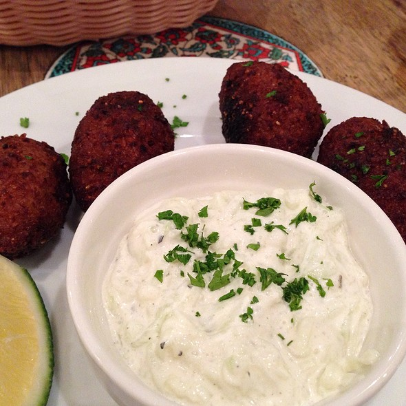 Kibbeh @ Cafe Mediterranean
