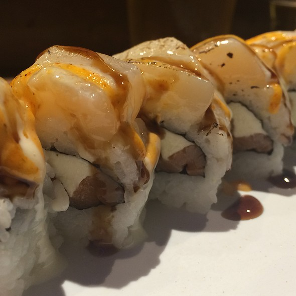 Scallop Sushi @ Bento Box