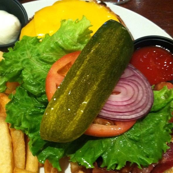 Cheeseburger & Fries - Connolly's Pub and Restaurant - 54th, New York, NY