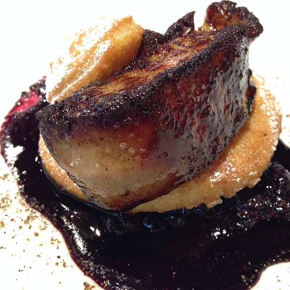 Seared Foie Gras On Doughnut With Huckleberry Reduction Sauce - RN74 - Seattle, Seattle, WA