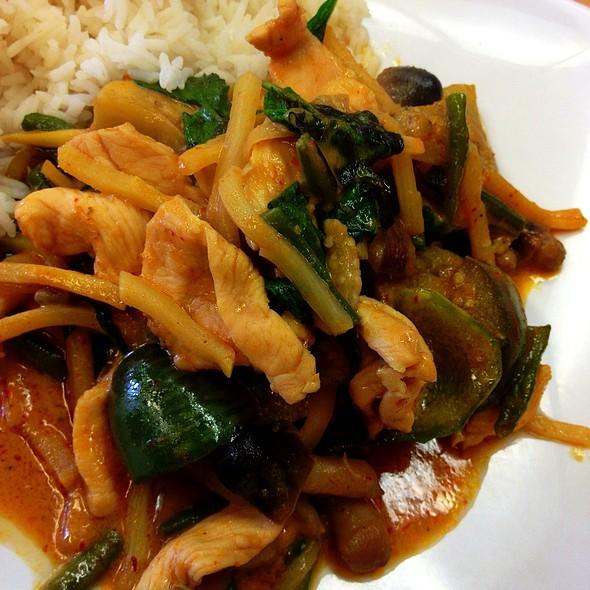 Pad Phet @ Sabaidee Thai Cuisine