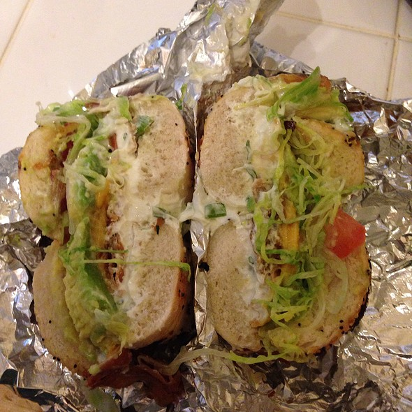 Oak Pork BLT @ Chicago Bagel Authority