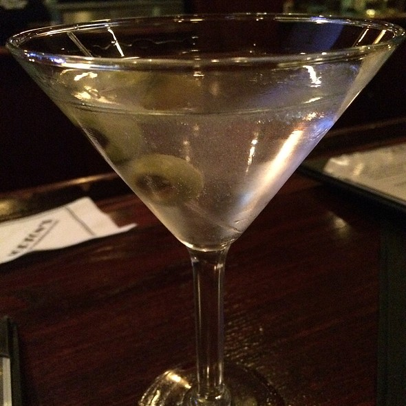 Tito's Vodka Martini - Morton's The Steakhouse - Atlanta - Downtown, Atlanta, GA