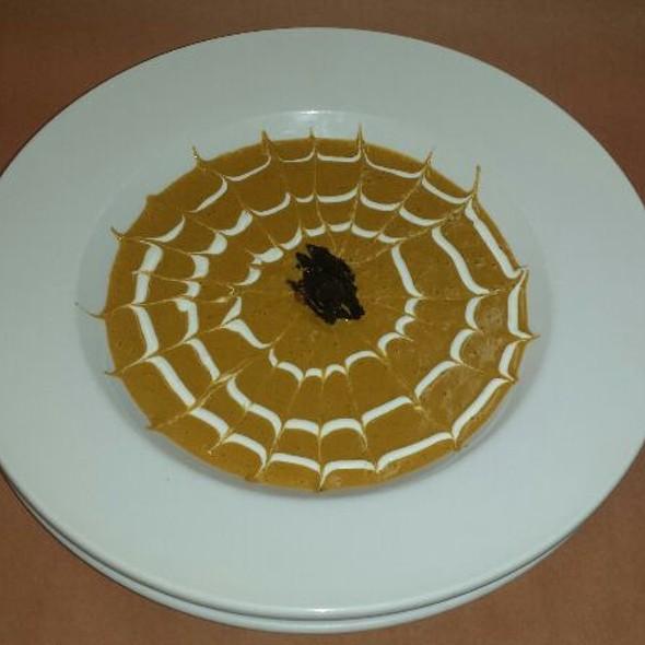 Pumpkin&Chile Pasilla Cream Soup @ Los Sarapes At Horsham Mexican