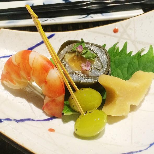 9 Course Dinner Menu @ Shiori