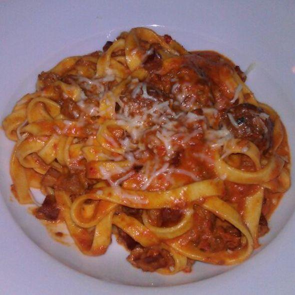Fettuccini a la Bolognese @ Pangea