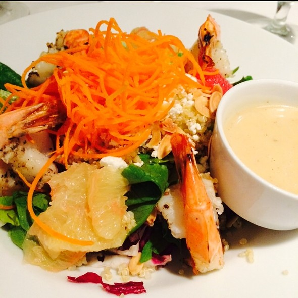 Grilled Shrimp Salad - Zodiac at Neiman Marcus – Downtown Dallas, Dallas, TX